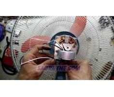 Bộ chế túc năng cơ thành túc năng điện cho quạt